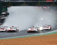 LM24 Hour 1: Dramatic start as Toyota and Glickenhaus collide