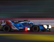 LM24 Hour 10: Alpine rises to third as incidents return