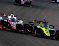 Jones, Rahal upset with each other after early crash at WWTR