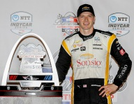 Newgarden cruises to victory in wild IndyCar race at WWTR