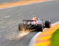Verstappen tops second Belgian GP practice, then crashes