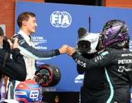 Russell surprised by P2 but thinks he can stay there