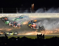 Dillon misses playoffs after being collected in last-lap crash