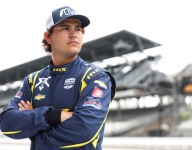 Enerson looking up from the back for Cup Series debut