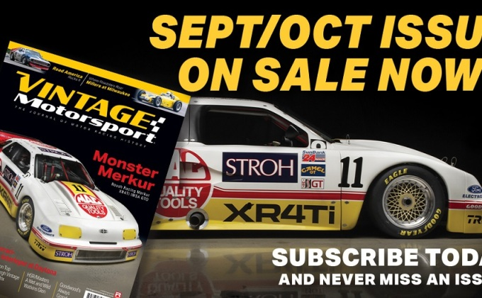 Vintage Motorsport's 2021 Sept-Oct Issue is now available