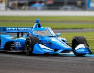 Palou leads Indy road course practice