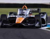 O'Ward tops tight qualifying on IMS road course