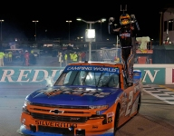 Creed opens Truck Series Playoffs with win at Gateway