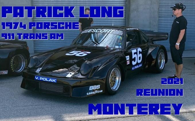 In-Car: Patrick Long Porsche 911 Trans Am at the 2021 Monterey Reunion