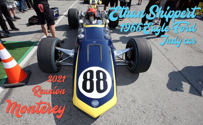 In-Car: Bobby Rahal's 1966 Eagle-Ford at the 2021 Monterey Reunion