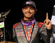 Larson continues dirt domination with Stoops Pursuit race victory at IMS