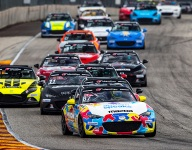 Rollan hangs on for Mazda MX-5 Cup Road America win