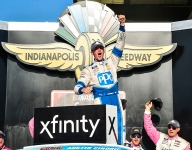 Cindric fulfills dream with win at IMS road course