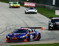 Sofronas, Audi hits Race 1 trifecta with pole, win and fast lap