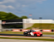 Wagner on top in Mazda MX-5 Cup practice at Road America