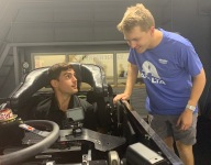 Watch VeeKay, Byron do a virtual ride swap in the Chevy simulator