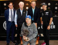 Miller honored in special Motorsport Hall of Fame ceremony at IMS