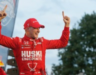 Ericsson rebounds from early crash to win wild inaugural Music City GP