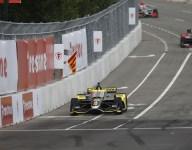 Herta stays ahead in wild second Nashville GP practice