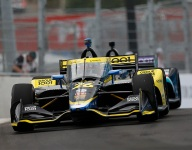 Herta tops opening practice for Music City GP