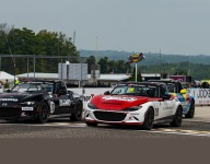 Carter beats Paley by a nose in Mazda MX-5 Cup at Road America