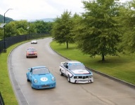 Brian Redman tours Pace GP at the Bend Chattanooga race course
