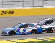 Larson leads Las Vegas field
