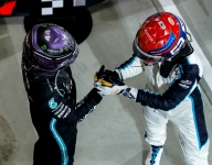 Russell 'knows where I'll be driving' as Hamilton warms to prospect of new teammate