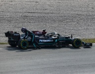Hamilton playing catch-up after stoppage