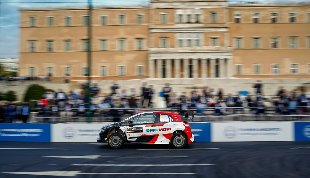 Photo of Ogier leads after Acropolis Rally prologue | RACER