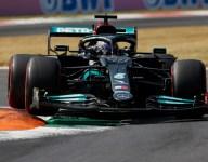 Hamilton leads pre-Sprint practice, Sainz crashes
