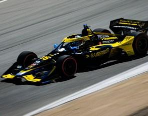 Herta 'never felt vulnerable' in dominating drive at Laguna Seca