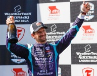 "Grosjean savors ""freedom"" of IndyCar racing after Laguna charge"