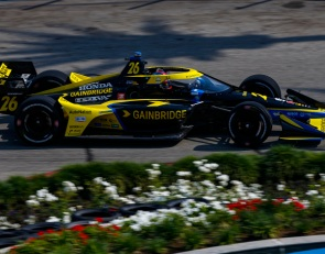 Herta leads Power in second Long Beach IndyCar practice