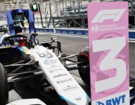 Russell aiming for podium after more qualifying heroics