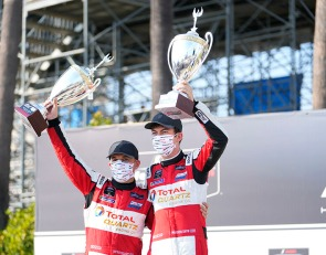 Pole took 'pressure off' in drive to GTD Long Beach victory - Snow
