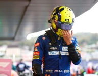 Norris 'devastated' after win slips away with slick tire gamble