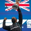 Hamilton credits team's call to pit for 100th win