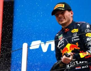 Verstappen's P2 was like a win –Horner