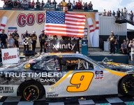 Gragson holds off Haley to win Xfinity Series race at Richmond