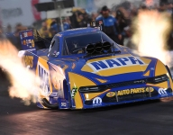 Despite 'different' feeling, Capps again on top as Countdown begins