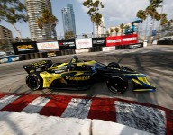 Herta paces wild opening IndyCar practice at Long Beach