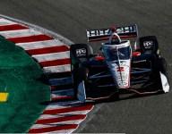 Newgarden tops opening practice at Laguna Seca