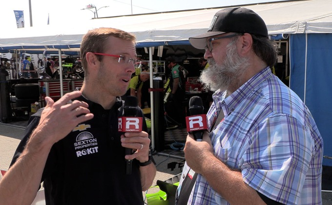 VIDEO: Long Beach Saturday report with Sebastien Bourdais