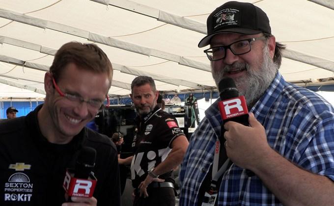 VIDEO: Laguna Seca Saturday report with Sebastien Bourdais