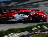 Nasr leads 1-2-3 Cadillac romp in second practice at Long Beach