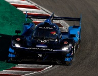 Albuquerque leads opening practice at Laguna Seca