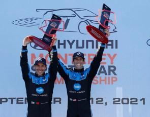 Albuquerque, Taylor deliver victory for WTR Acura at Laguna Seca