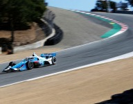 McLaughlin at the front in second Laguna Seca IndyCar practice