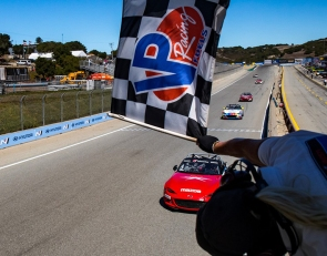 Wagner hangs on for Mazda MX-5 Cup Race 1 victory in Monterey